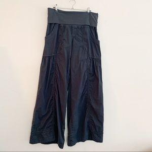 XCVI Lovejoy Palazzo Pants Fold-Over Waist